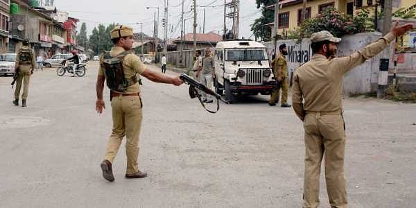 Terrorists hurl grenade at police station