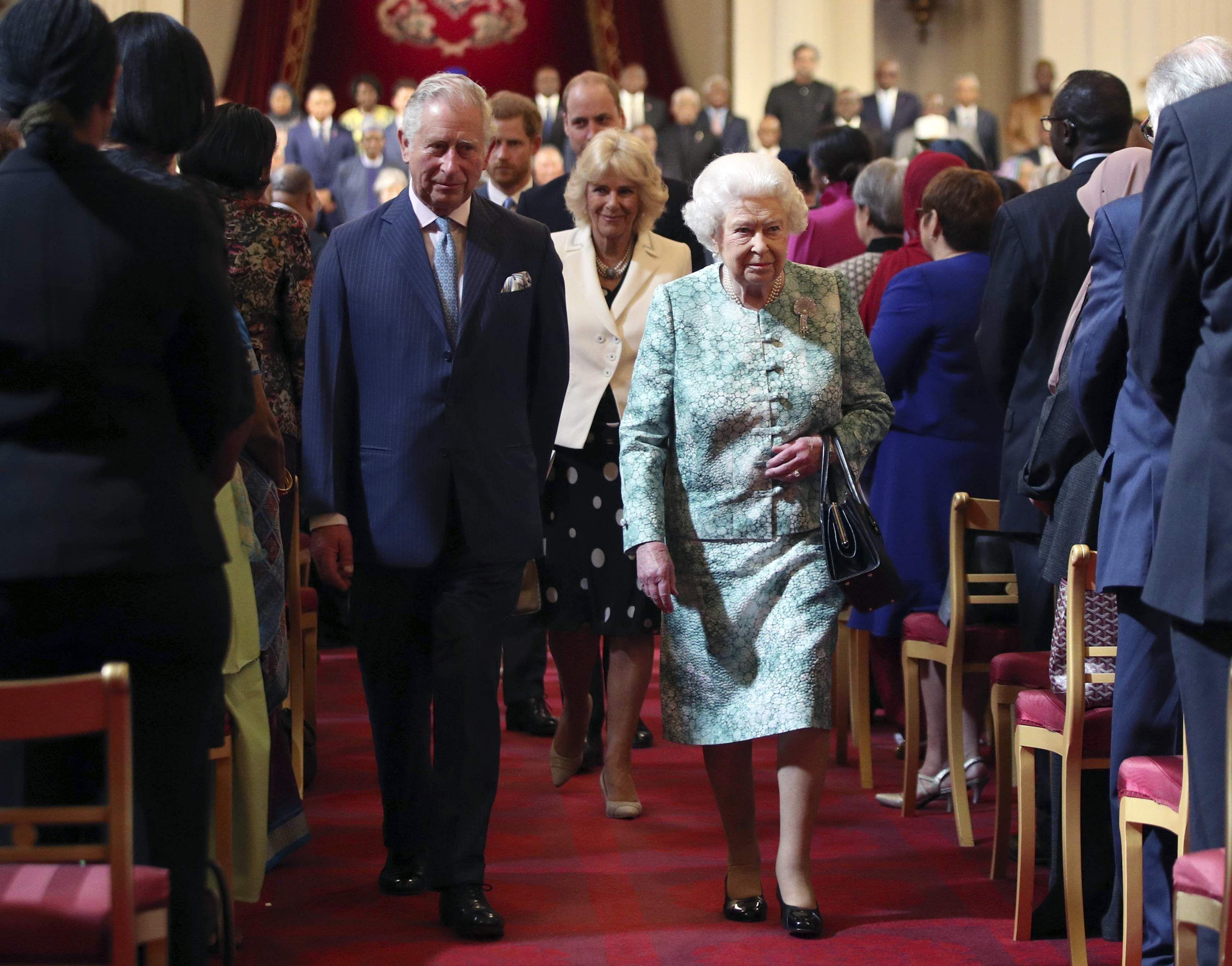 Queen Elizabeth Ii Puts Forward Prince Charles As Next