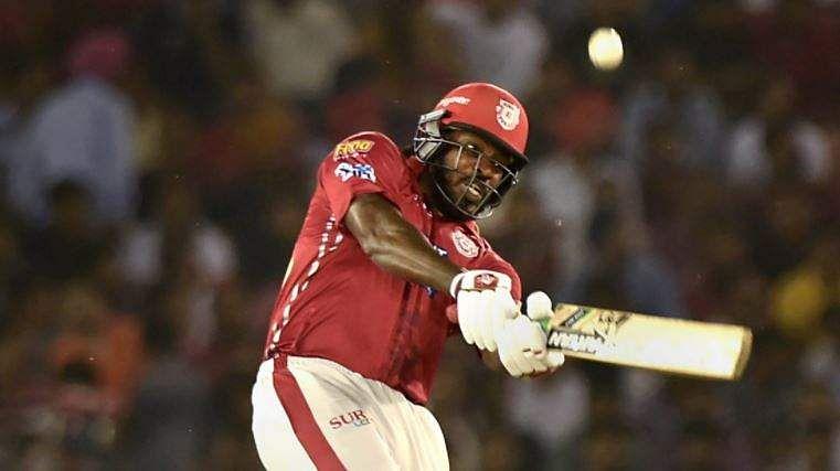 Chris Gayle's Sixth Ton Helps Kings XI Punjab Defeat Sun Risers Hyderabad