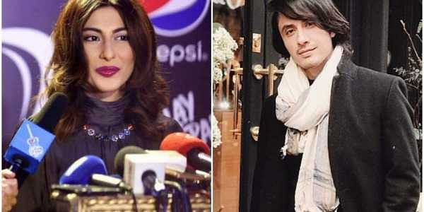 Meesha Shafi (left) and Ali Zafar | Social media
