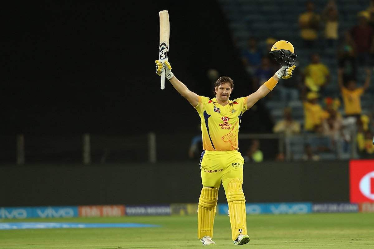 Watson's ton helps CSK score good win over RR