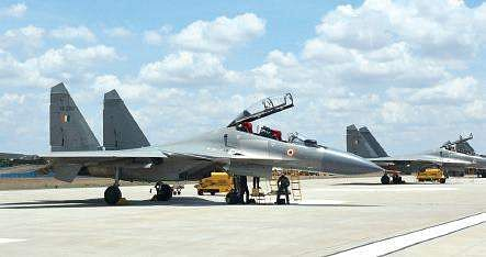 Defence Minister visit Indo-China border, inspect IAF`s Gagan Shakti 2018 exercise