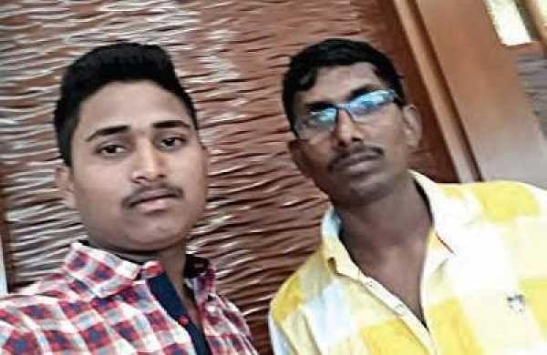Anil Ashaboina and  Bheemara Raju | Express  photo