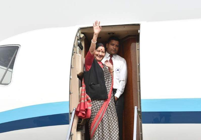 EAM Sushma Swaraj embarks on two nation visit of China, Mongolia