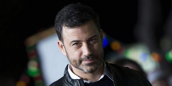 Comedian and late-night host Jimmy Kimmel| AFP
