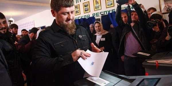 Chechnya's leader Ramzan Kadyrov. | AFP