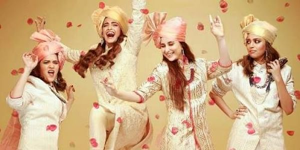 'Veere Di Wedding' is co-produced by Sonam's sister Rhea Kapoor, Ekta and Nikhil Dwivedi.