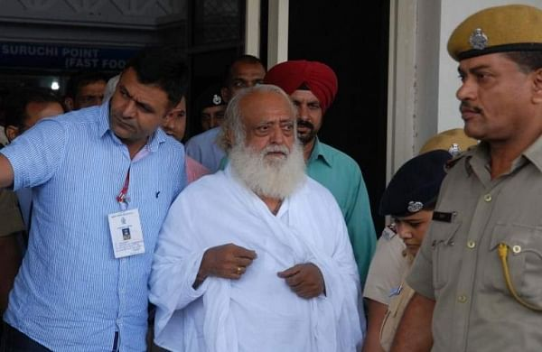 Self-styled Godman Asaram Bapu. | AFP File Photo