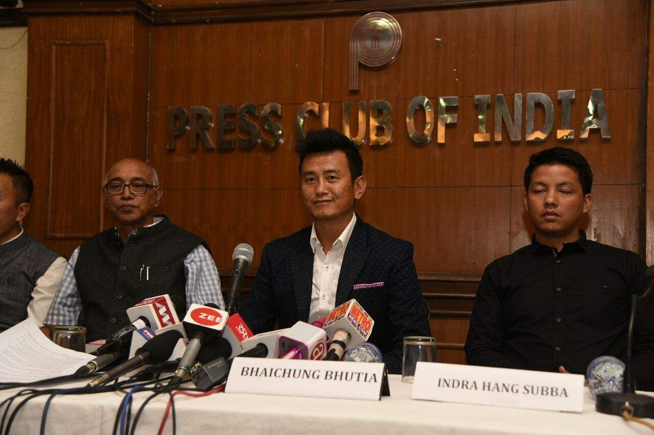 Ex-footballer Bhutia launches new party 'Hamro Sikkim' amid quitting Trinamool