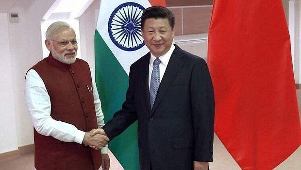 Modi and Xi Jinping