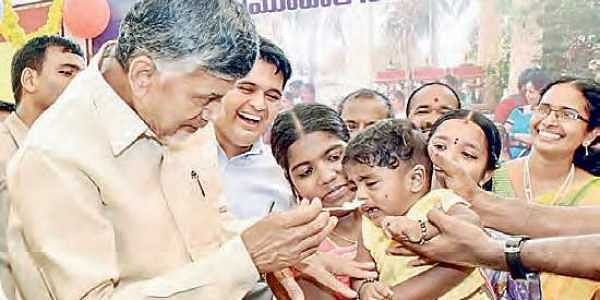 Chandrababu Naidu: Cash crunch will negatively affect growth rate