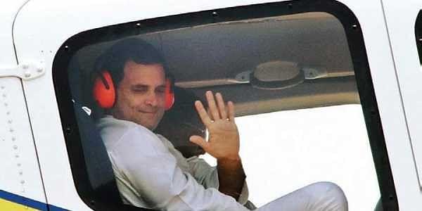 Image result for Rahul Gandhi plane Would Have Crashed