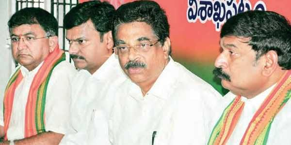 Why Naidu anxious about YCP-BJP tie-up, asks Haribabu