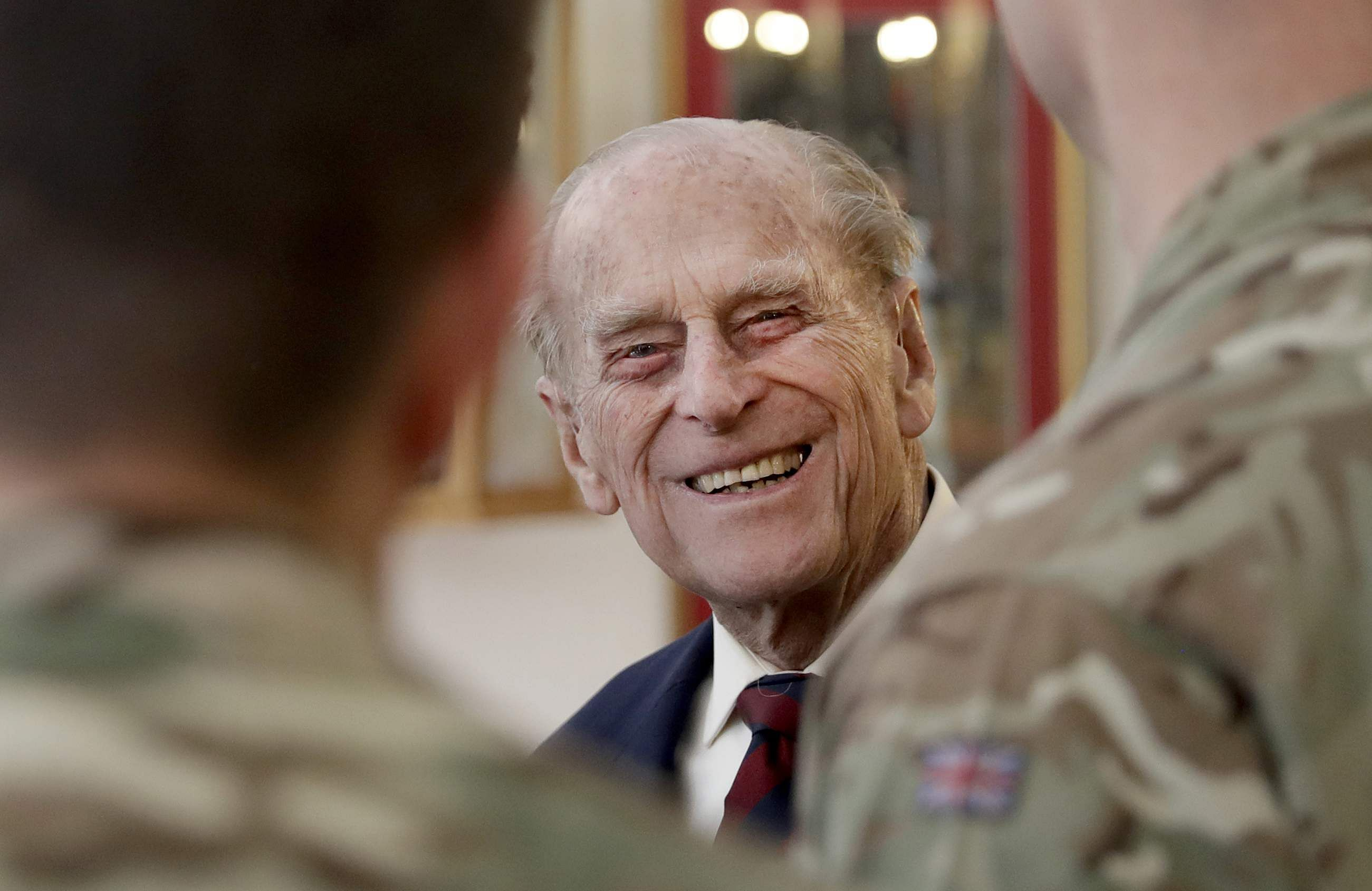 Queen's husband Prince Philip hospitalized for hip surgery