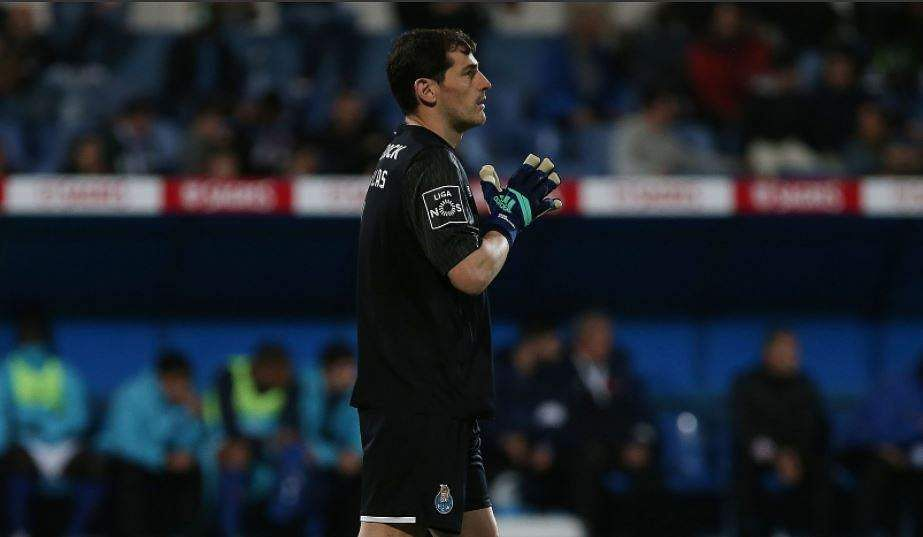 Iker Casillas marks 1000th career app