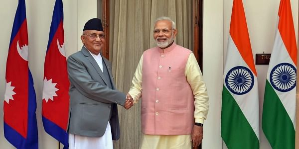 Blast at project site in Nepal weeks before inauguration by Modi