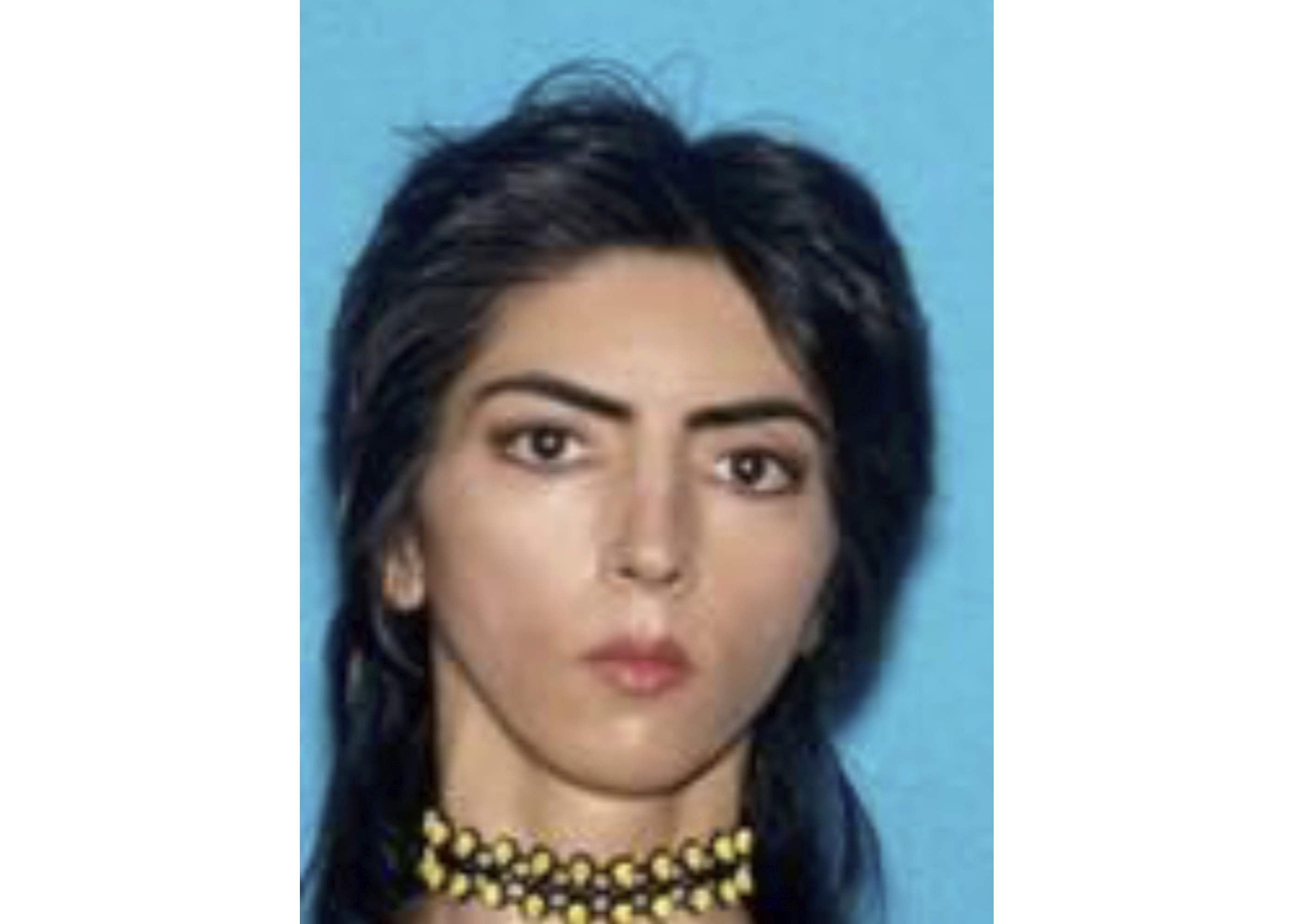 San Bruno Police Department shows Nasim Aghdam. | Associated Press