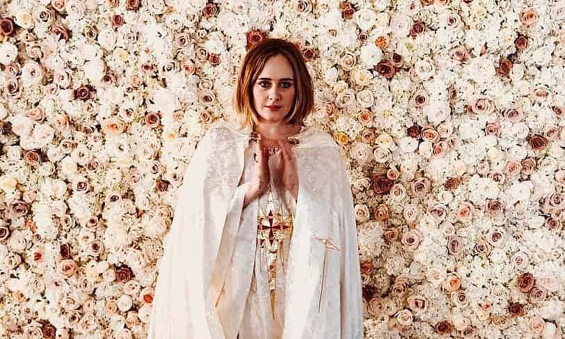 Adele became an ordained minister to officiate her friends' same-sex wedding