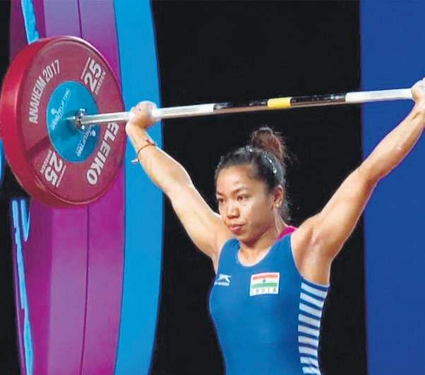 CWG: Mirabai Chanu claims gold