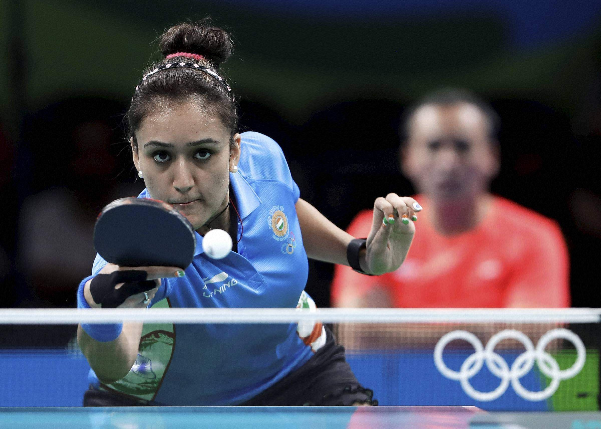 Manika Batra leads India to historic women table tennis gold