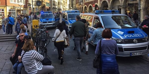 At least two dead, scores injured as car drives into crowd