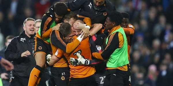 26f33af6a Wolverhampton Wanderers celebrates after the match against Cardiff  (Twitter  Wolves)