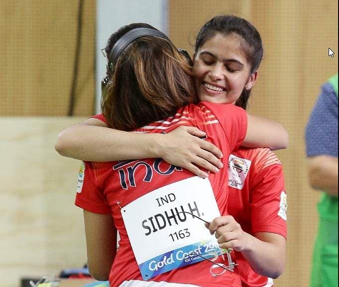 CWG 2018: Manu Bhaker wins gold, Heena Sindu bags silver