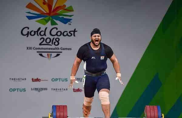 Indian weightlifter Gurdeep Singh KreedOn