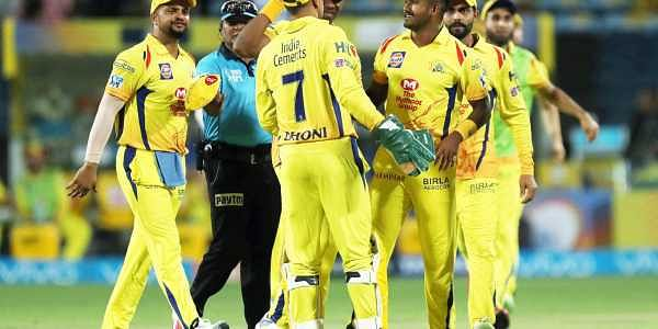 CSK go top after defeating DD