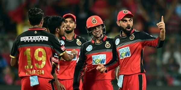 Royal Challengers Bangalore team. (File | PTI)