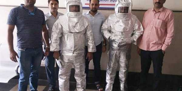 NASA Con Men Wearing Space Suits In India Paraded Around By Police