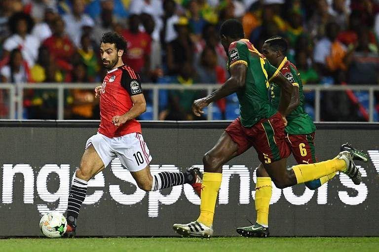 Mohamed Salah of Egypt (AFP)