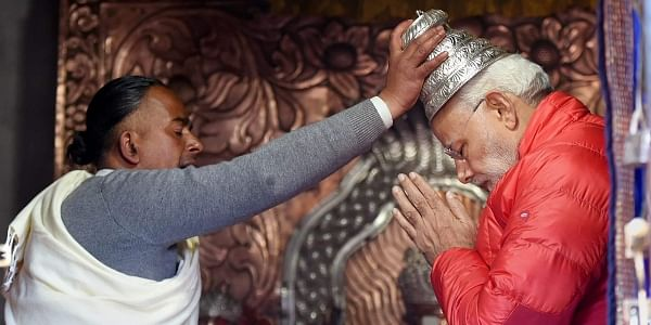 #ModiInNepal: PM Modi offers prayer at iconic Muktinath temple