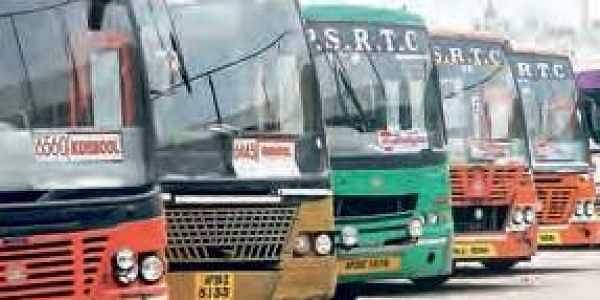 APSRTC felicitates 51 accident-free drivers in Andhra