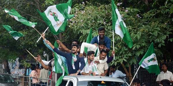 JDS_supporters_JDS_flag