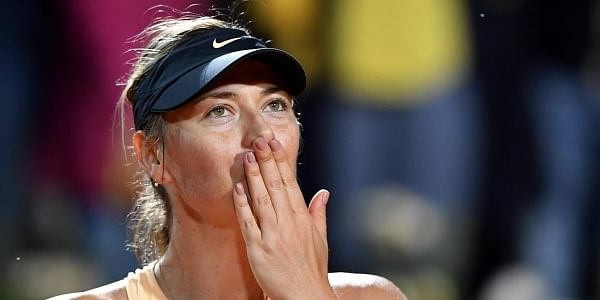Daria Gavrilova loses cool after defeat to Maria Sharapova in Rome