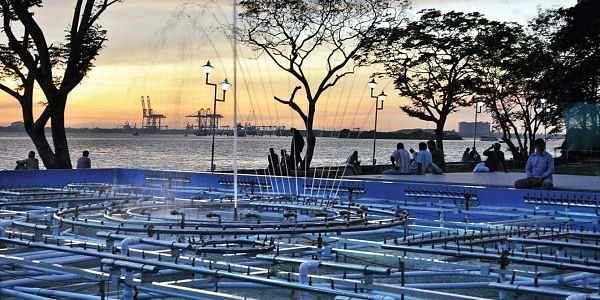 Laser show park at Rajendra Maidan (file pic)