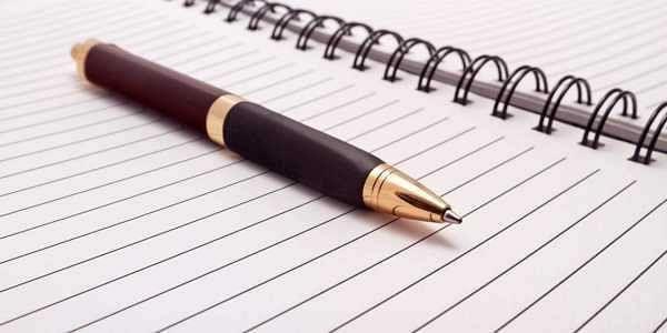 pen, journalism, writing, exam, notebook, paper