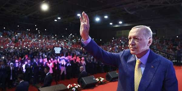 Erdogan hits Turkey currency storm month before polls