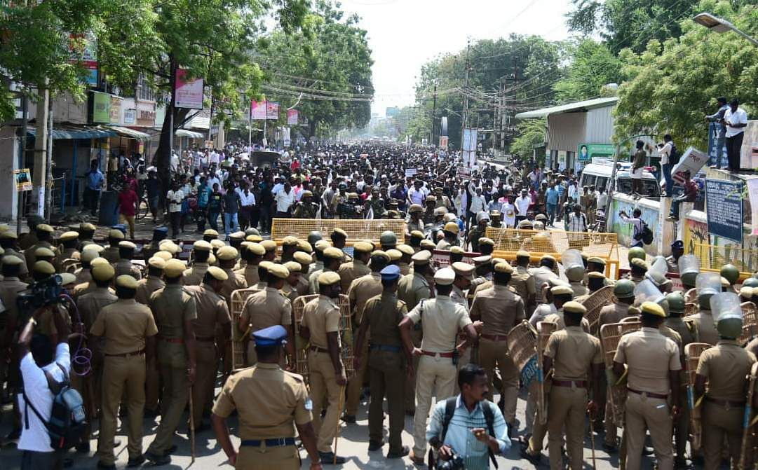 Thoothukudi Sterlite protest, EPS, 22 May 2018