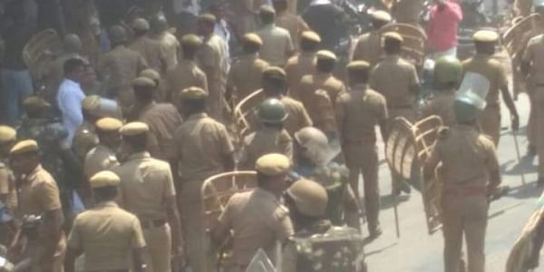 Nine killed in police firing on protesters in Tamil Nadu