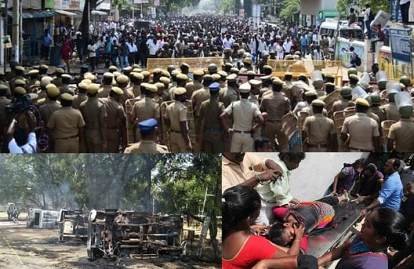 The Sterlite protest in Thoothukudi took a violent turn after local cops opened fire against protestors leading to the death of five protestors. (EPS)