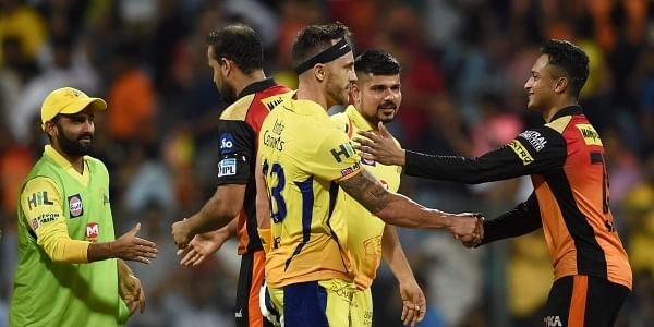 IPL: Kane Williamson's Sunrisers fall to Super Kings in finals qualifier