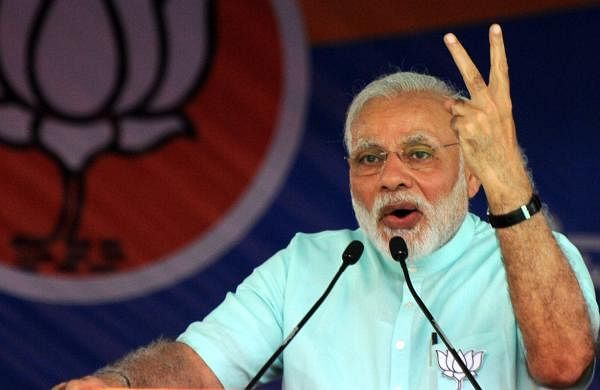 PMNarendra Modi (Udayashankar S   EPS)