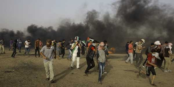 Two Palestinians killed by Israeli tank fire in Gaza