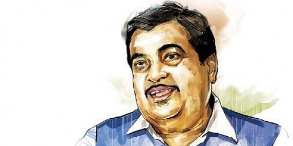 Nitin Gadkari, graphic, illustration, BJP , Rivers,