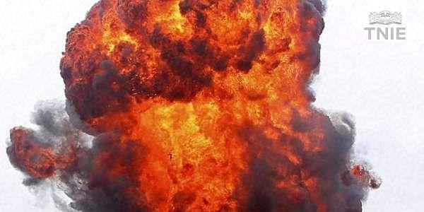blast, vijesh, bomb, explosion, pottunna padam