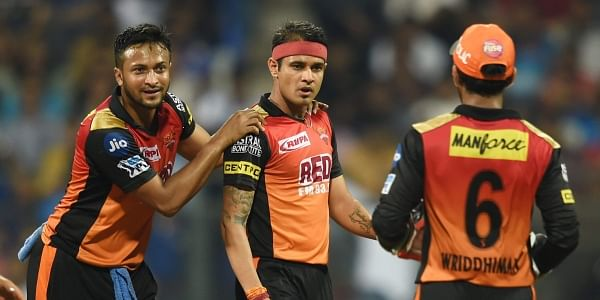 T20 2018: Hyderabad beat Delhi by 7 wickets
