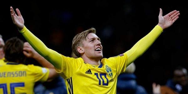 Sweden midfielder Emil Forsberg (File | AP)