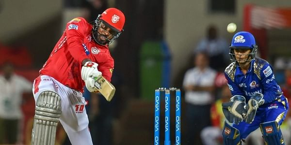 In-form Chris Gayle scores another fifty before Mumbai fight back against Punjab- The New Indian Express
